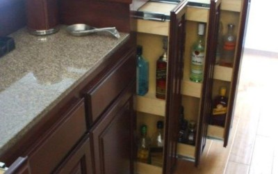 Pull Out Drawers For Your Home Bar
