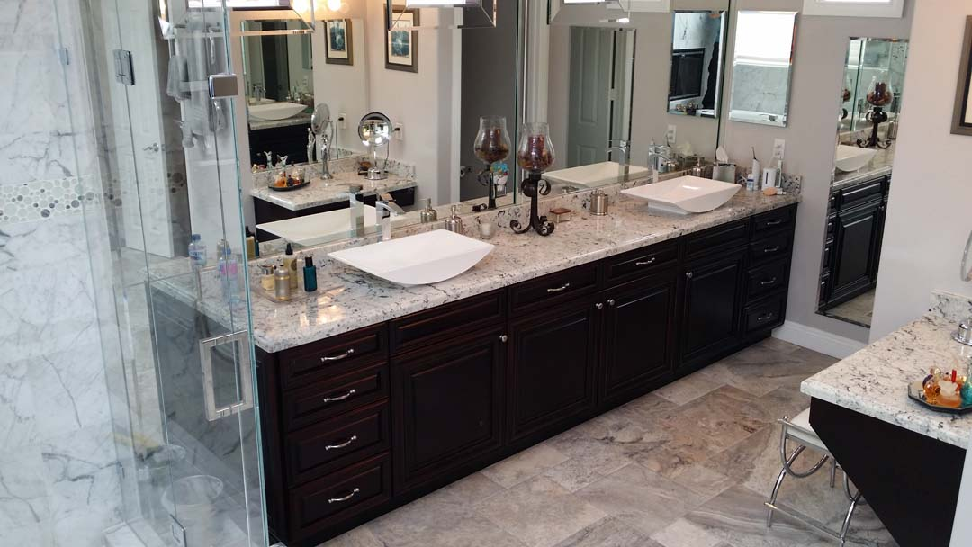 Bathroom refacing save time includes 20 year warranty for Bathroom cabinets refacing