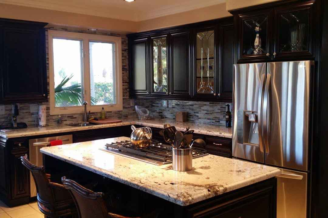 Kitchen refacing in Yorba Linda