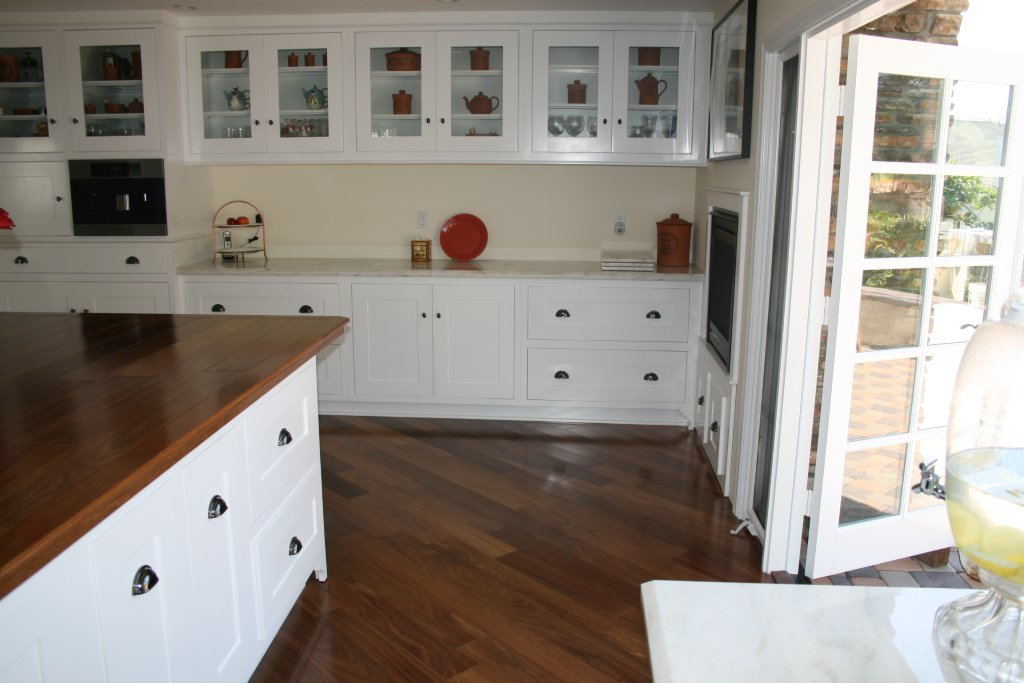 White Or Stained Cabinets Which Color Do You Prefer