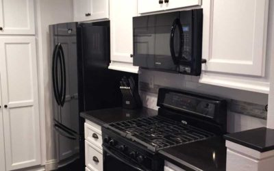 See a kitchen refacing transformation