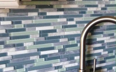 Try This Trend: Glass Tile Backsplashes