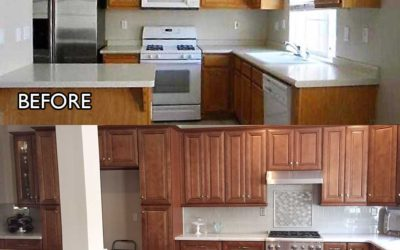 Amazing Before and After Kitchen Remodeling Photos
