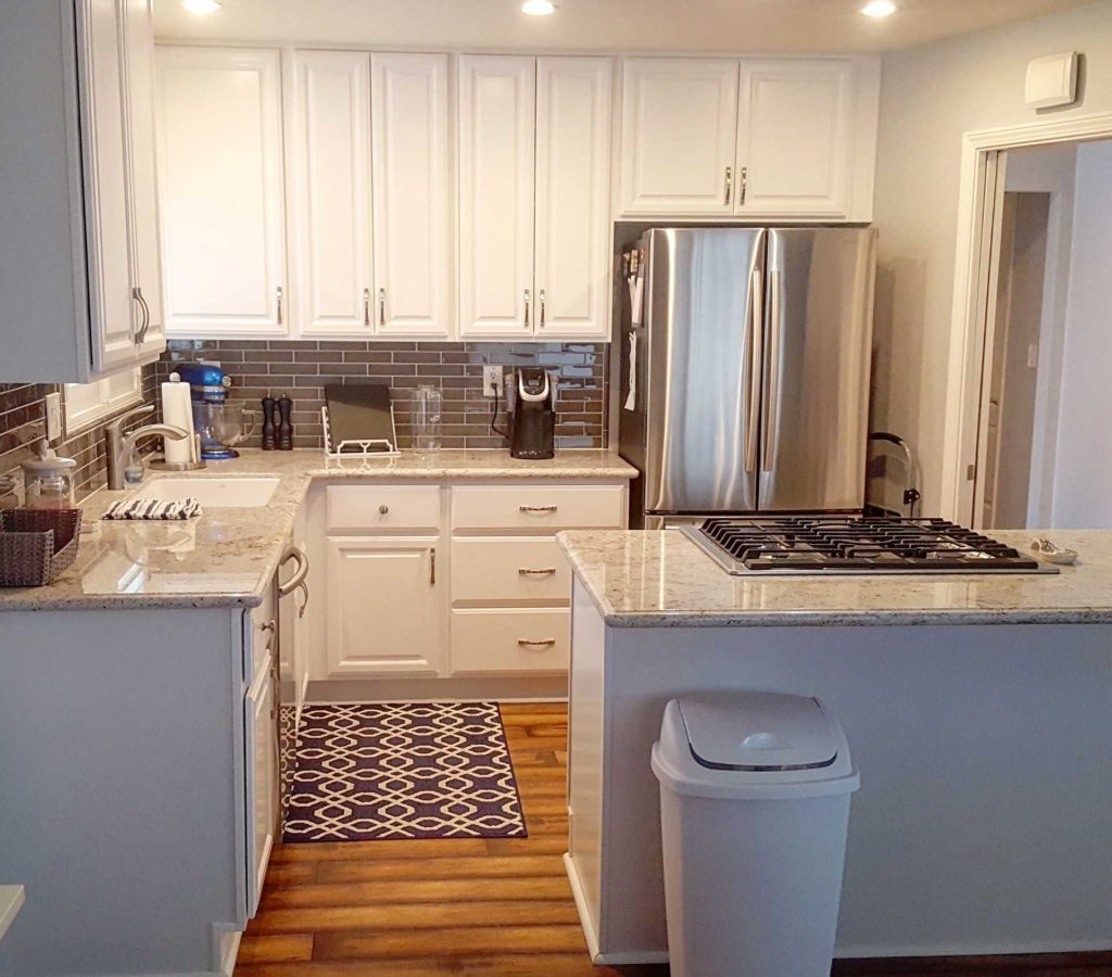 Remodeled Kitchens With White Cabinets: White Kitchen Cabinet Remodel