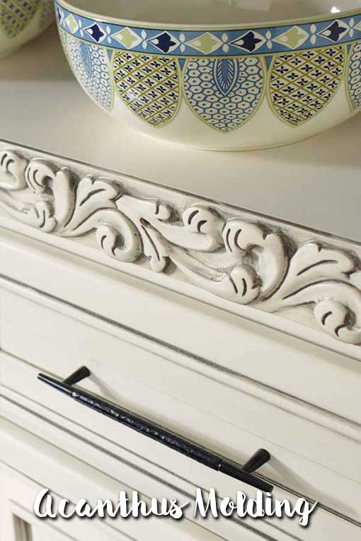 Acanthus Cabinet Molding