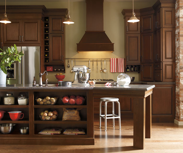 Schrock semi custom kitchen cabinets