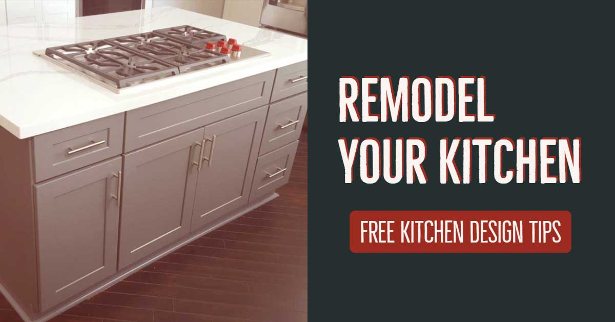 Remodel your kitchen. Get free kitchen design tips from Cabinet Wholesalers.